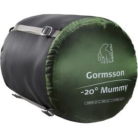 Nordisk Gormsson -20° Mummy Saco de Dormir M, negro/verde
